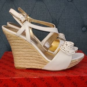 GUESS LATONIA3 ESPADRILLE WEDGES